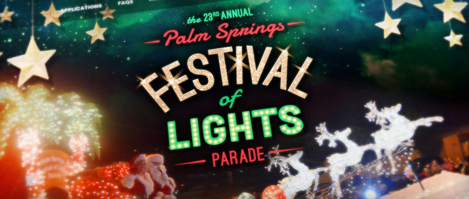 Palm Springs Festival of Lights Parade